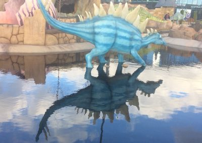 Crazy Golf Dinosaur