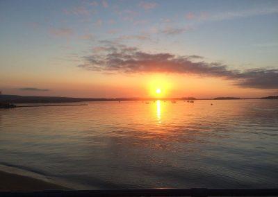 Sunset Poole