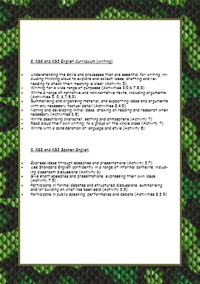 Teacher Resource Page 3