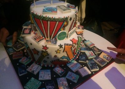 cake at SCBWI conference alchemy